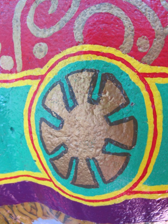 painted motif