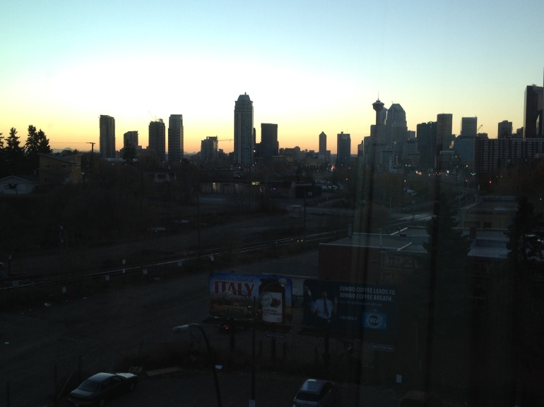 view of downtown Calgary
