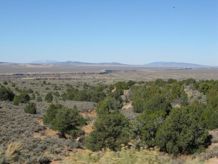 New Mexico near gorge