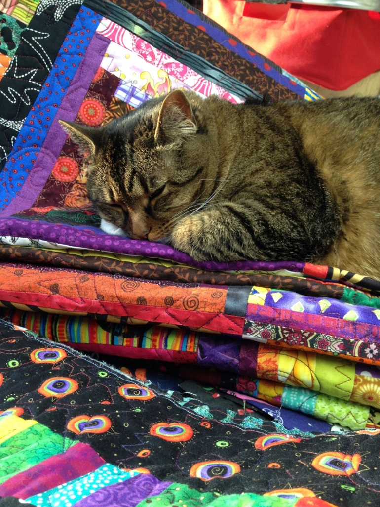 Kush on quilts