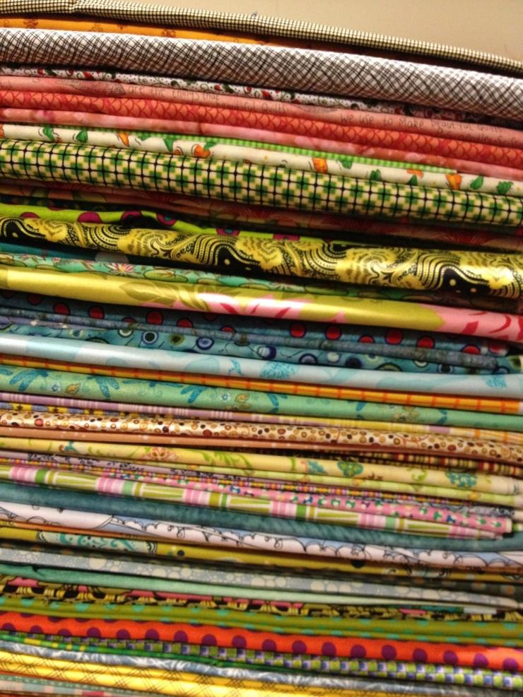 lovely light colored fabrics
