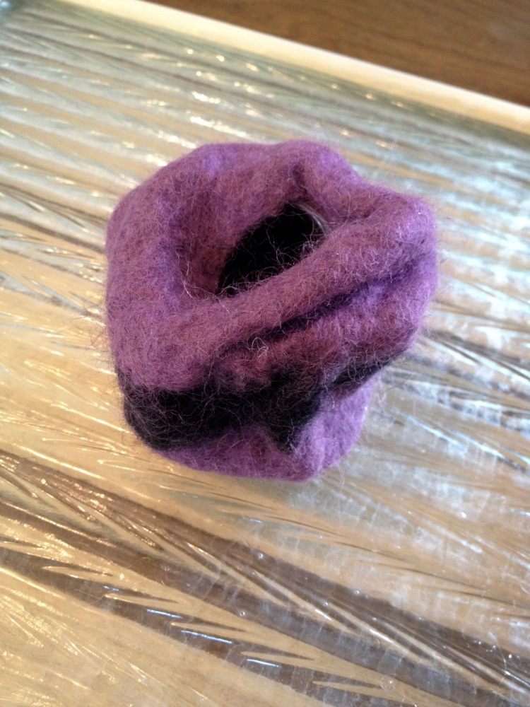 more felted container