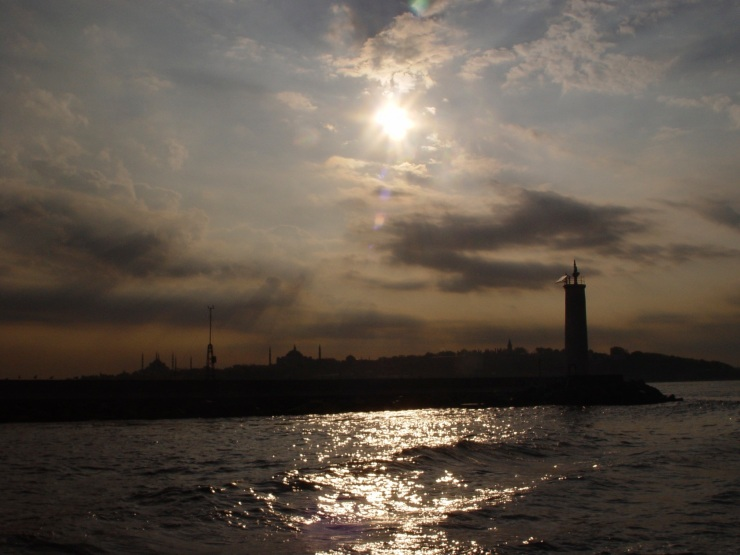 sunrise over Bosphorus