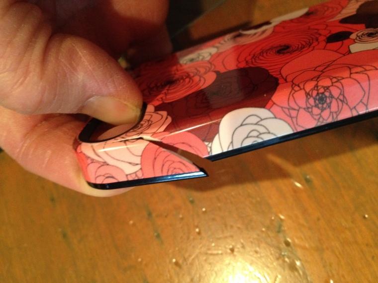 broken phone case