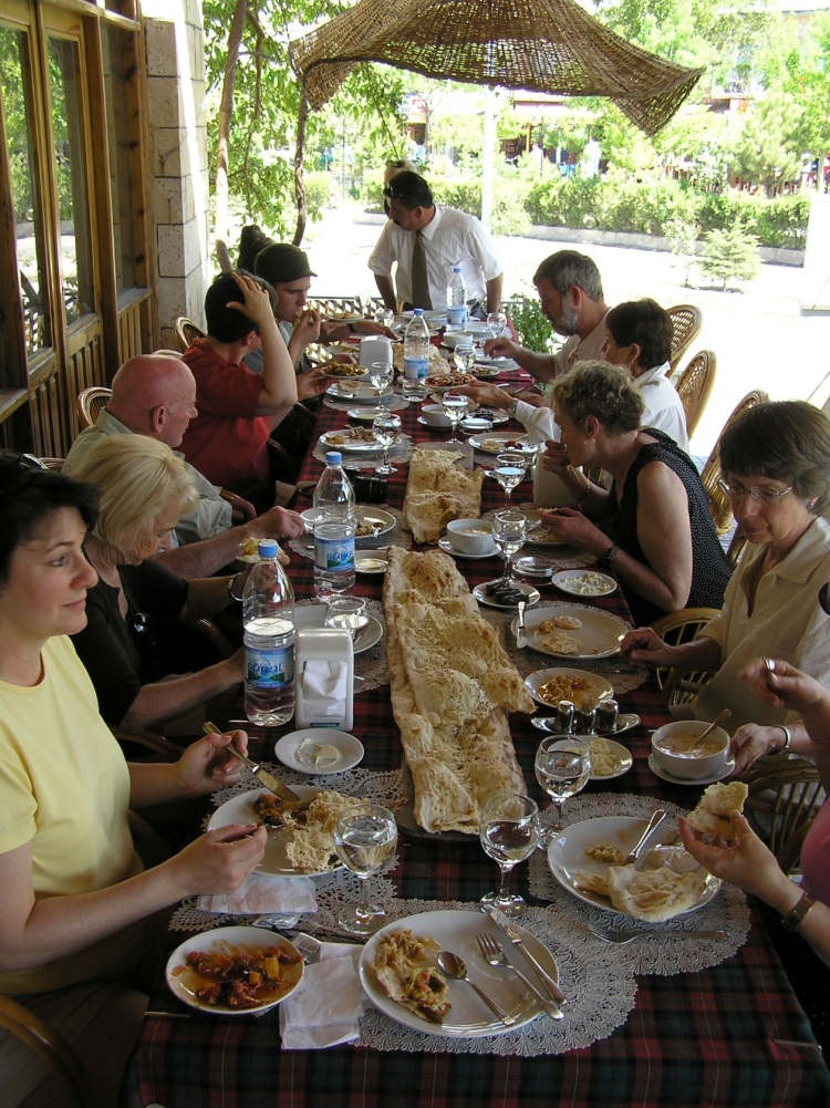lunch in Turkey