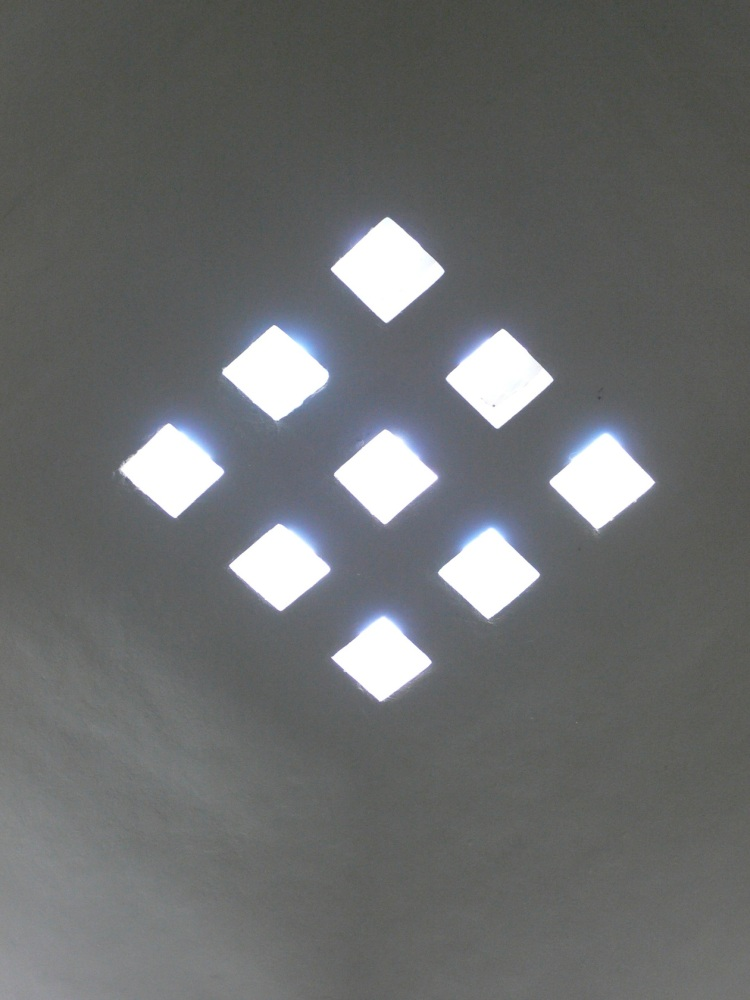 skylight in Topkapi Palace