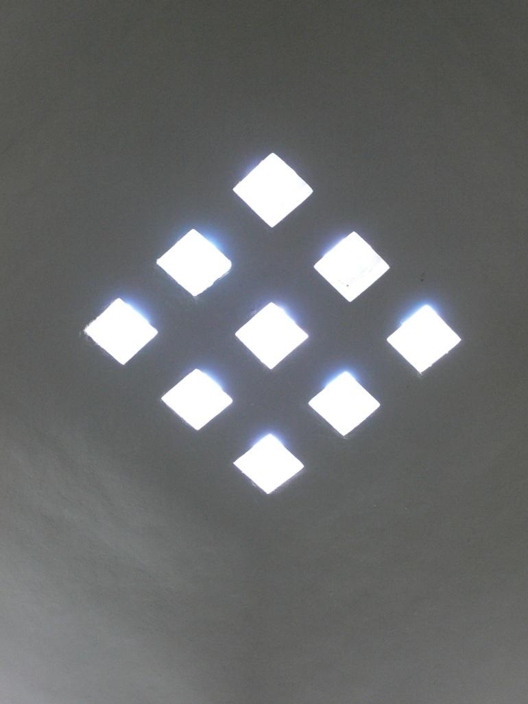 skylight in Topkapi Palace