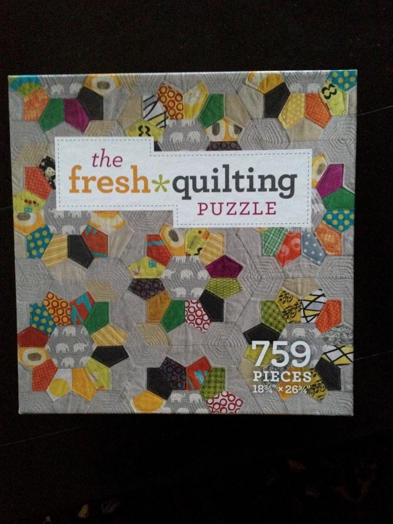 quilting puzzle box