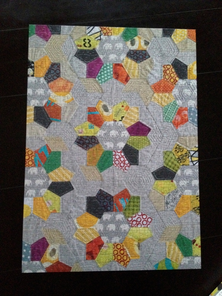 completed quilt puzzle