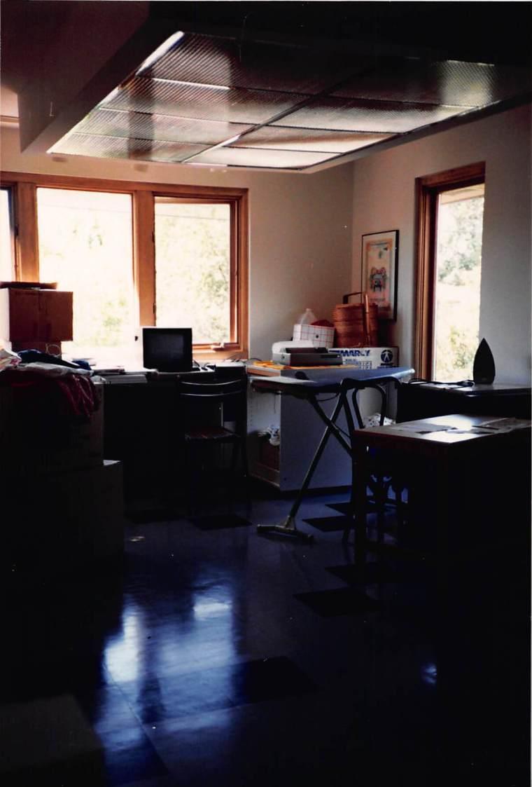 my studio in 1988