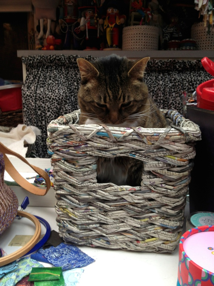 Kush in a paper basket