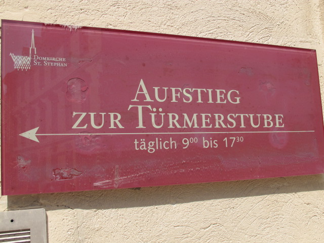 Turmerstub sign
