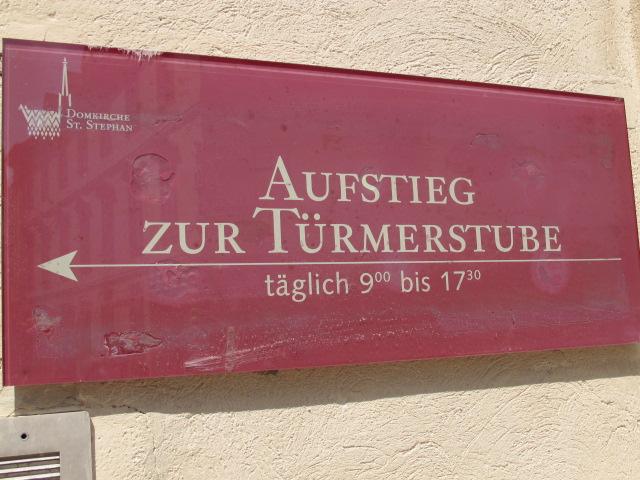 Turmerstub sign