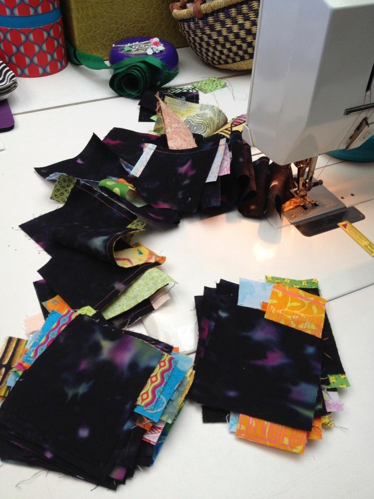 starting quilt blocks