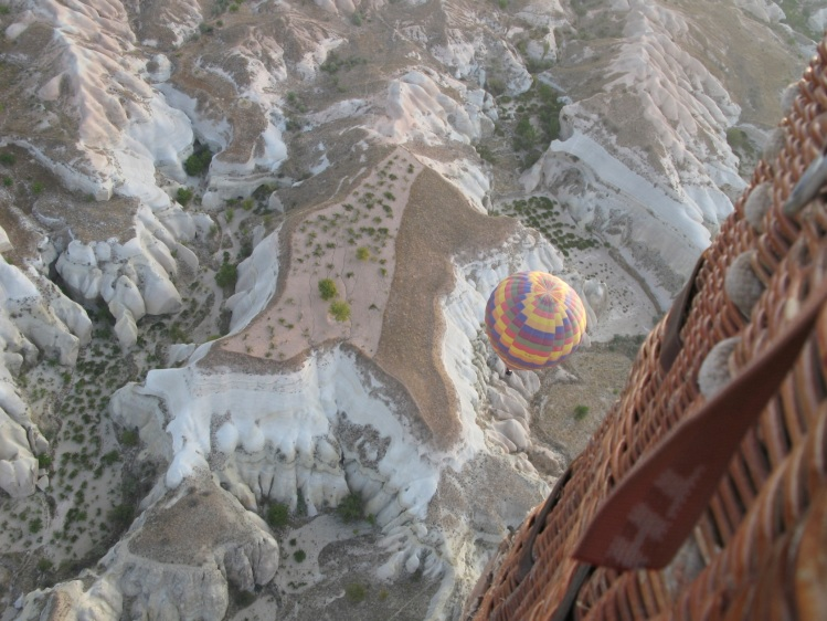 top of balloon