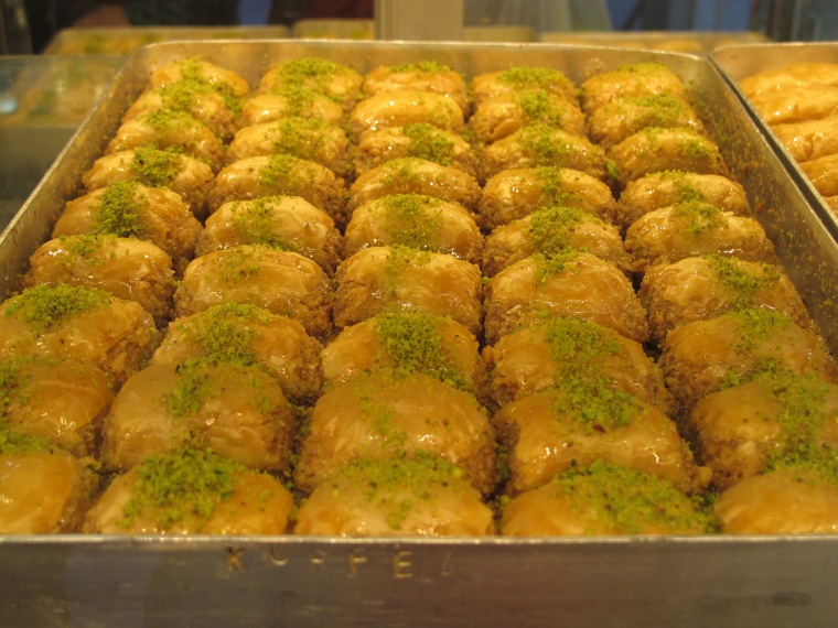 pan of baklava