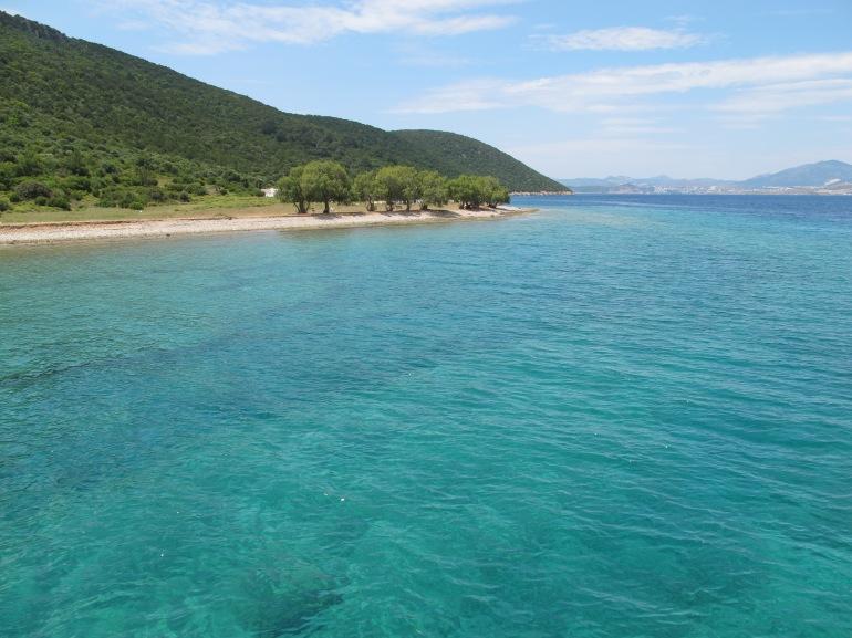 beautiful water of the Mediterranean
