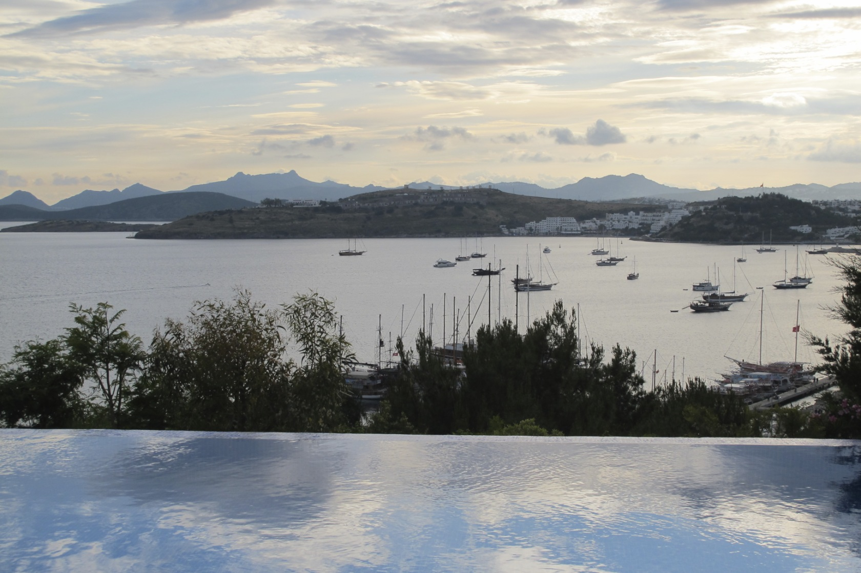 tranquil view in Bodrum