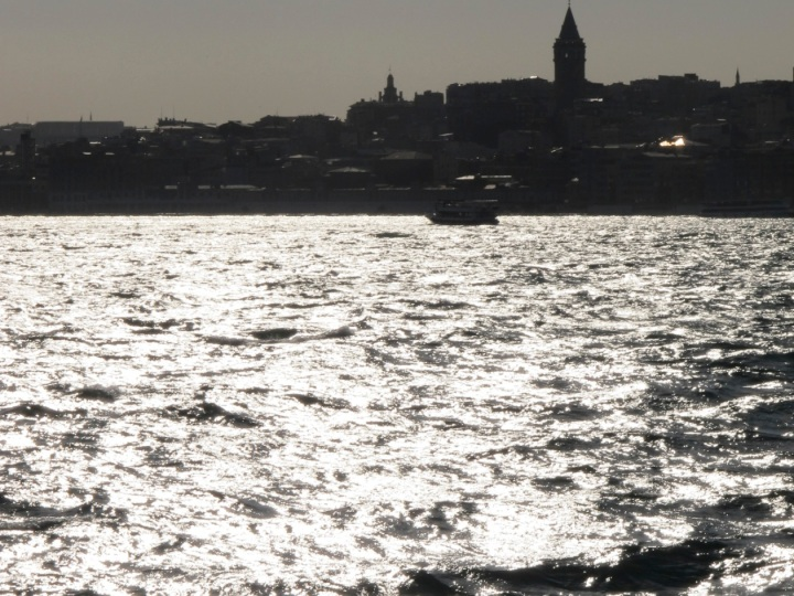 Galata Tower from the water
