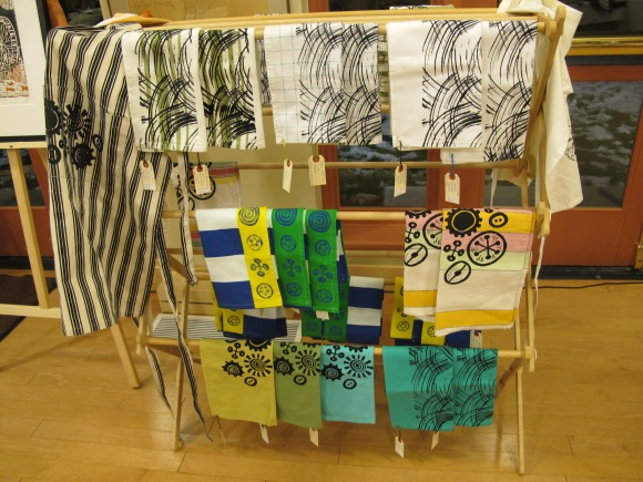aprons and tea towels