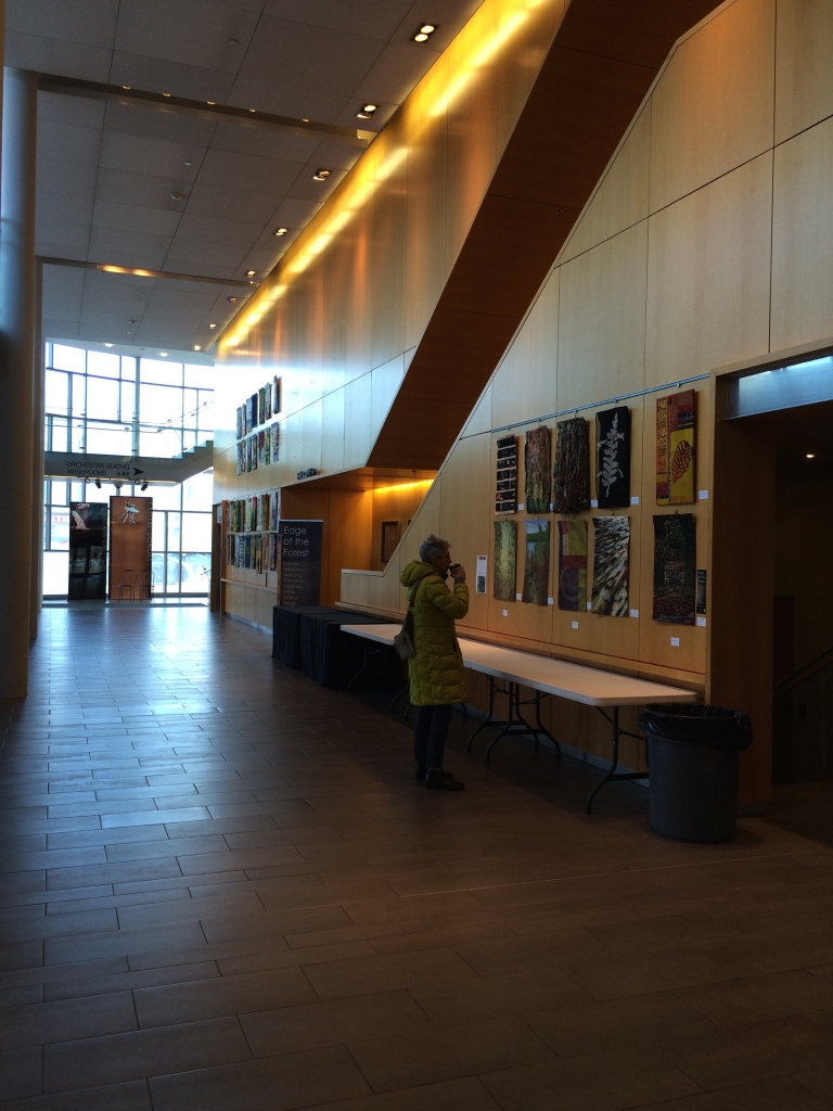 overall view of Richmond Hill Center for the Performing Arts exhibition space