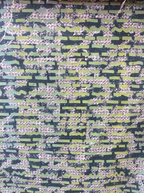 double screened quilt fabric