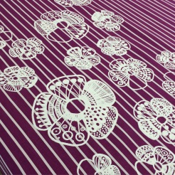 flower printed tablecloth