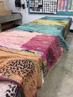 printed silk scarves