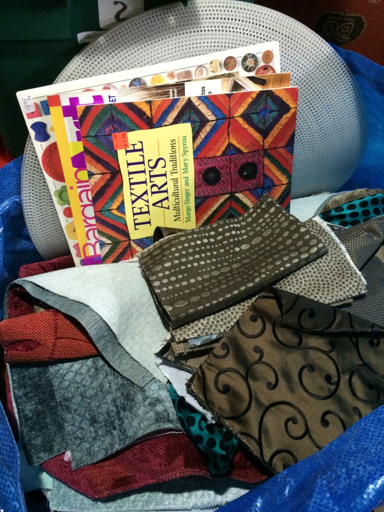 fabric & books