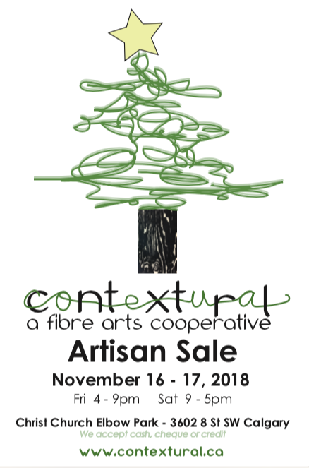 invitation to Contextural Artisan Sale